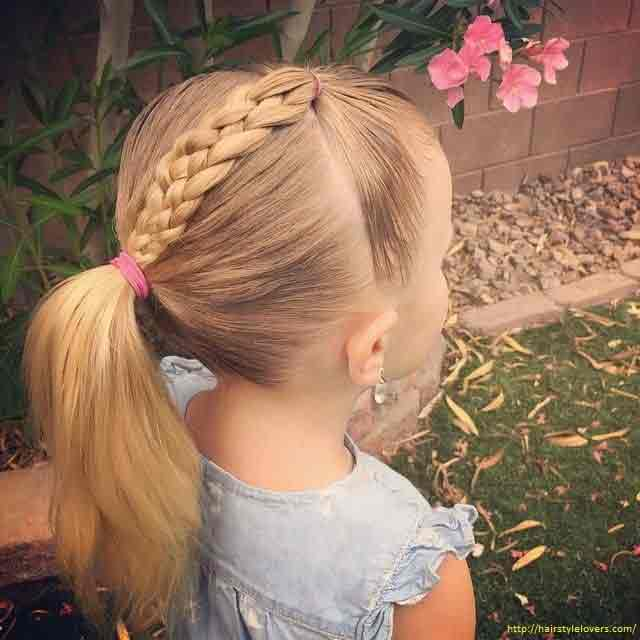 Little Girls Hairstyles For Eid 2019 In Pakistan FashionEven