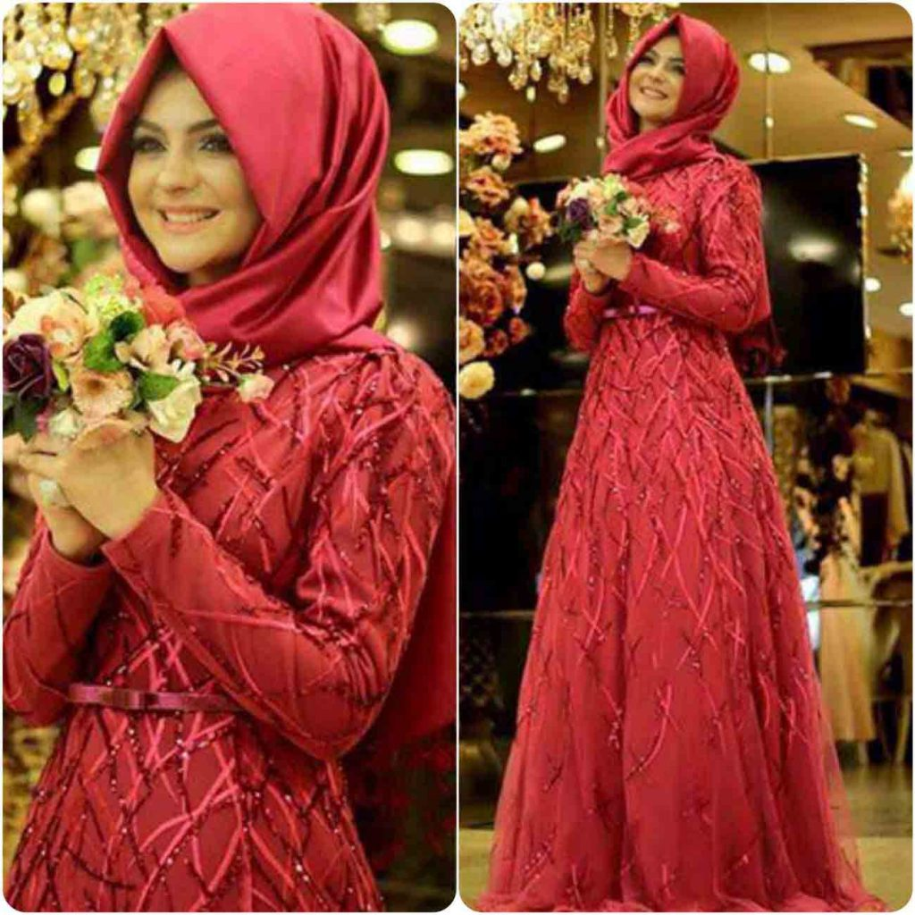 Party Hijab Styles For Eid In Pakistan 24 FashionEven