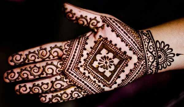 Easy Mehndi Designs For Kids Full Hand