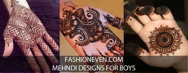Mehandi Designs Easy Full Hand For Kids