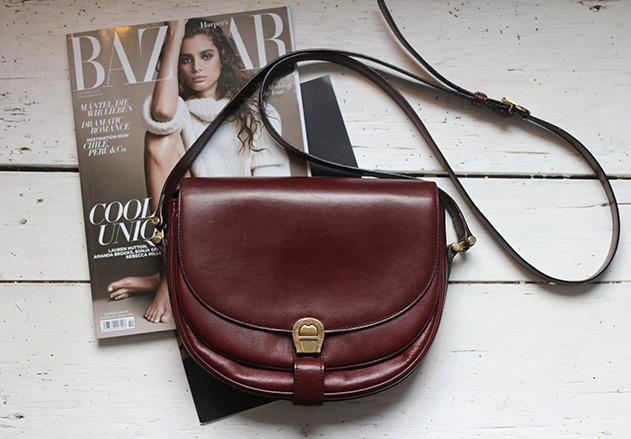 red_aigner_bag_vintage