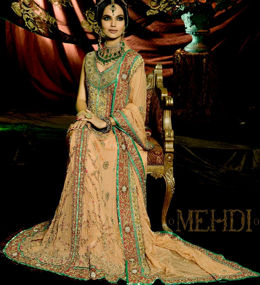 3328933f36 Stylish Pakistani Bridal Dresses Images