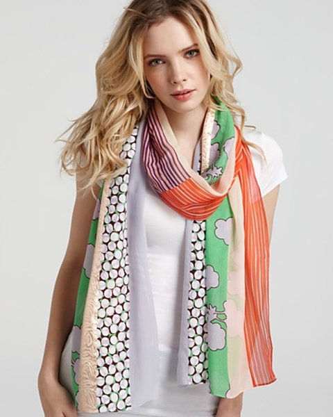 Scarf Fashion Latest Trends 2014 for Girls