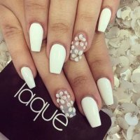 Wedding Nails Designs 2015 for Girls