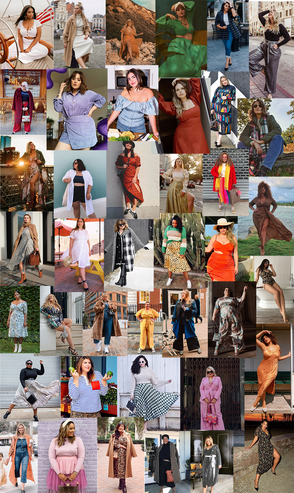 200 Curvy / Plus Size Fashion Instagrammers to follow for style inspiration - Fashion Foie Gras