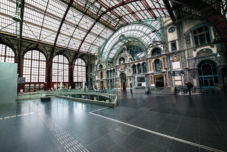 La Stazione Centrale di Anversa il migliore dei benvenuti