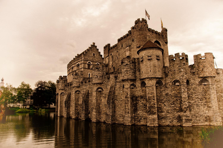 Gravensteen il castello dei Conti delle Fiandre di Gent