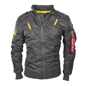 ALPHA Industries Falcon II Fliegerjacke stone online bestellen bei Mode Freund Trend Marken Shop ab 50€ Versandkostenfrei