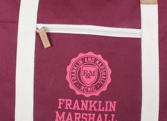 Franklin & Marshall Damen Shopper solid im trendigen College-Look  Taschen online bestellen bei Mode Freund online Fashion Store