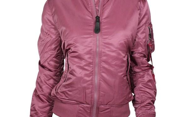 ALPHA Industries Damen Wendejacke dusty pink