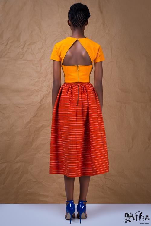 raffia fashionghana african fashion look book (4)