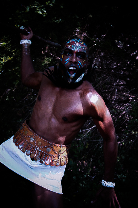 african tribal make up for men african fashion shoot fashionghana (12)