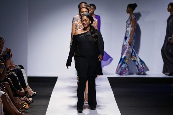 Tiffany Amber lagos fashion and design week 2015 fashionghana nigerian fashion (1)