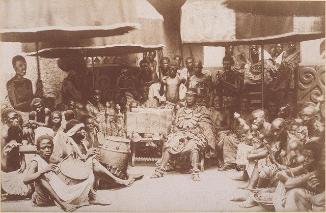 19th 20th century pictures of kings in ghana (1)