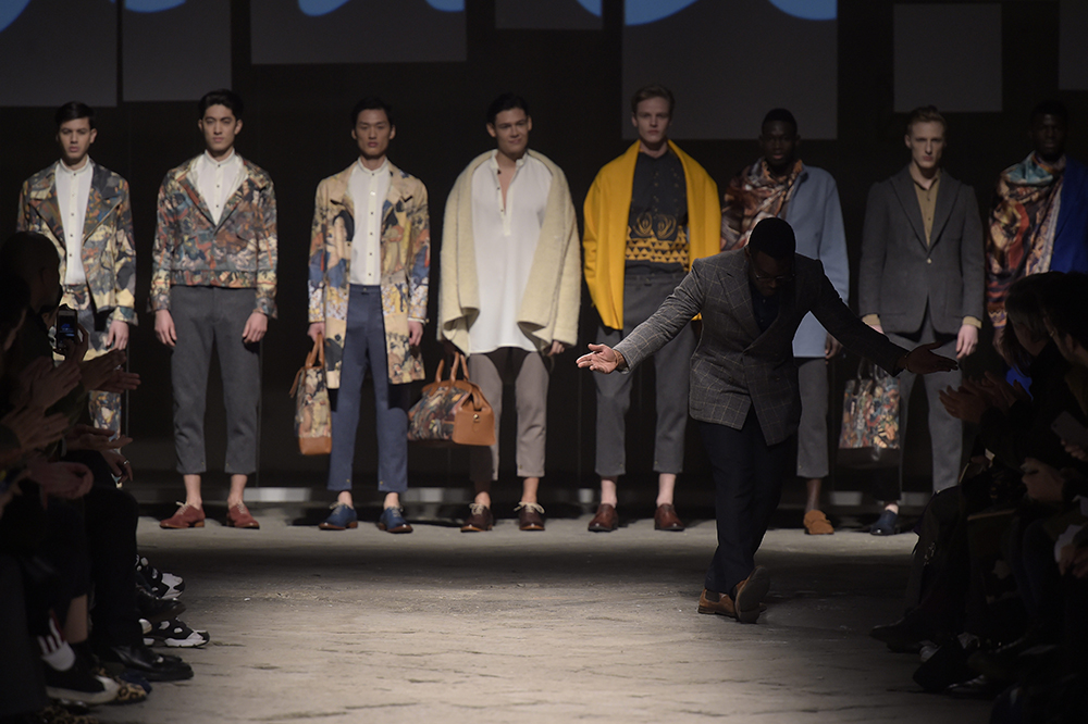 Ikiré Jones designer Walé Oyéjidé at Generation Africa © Giovanni Giannoni