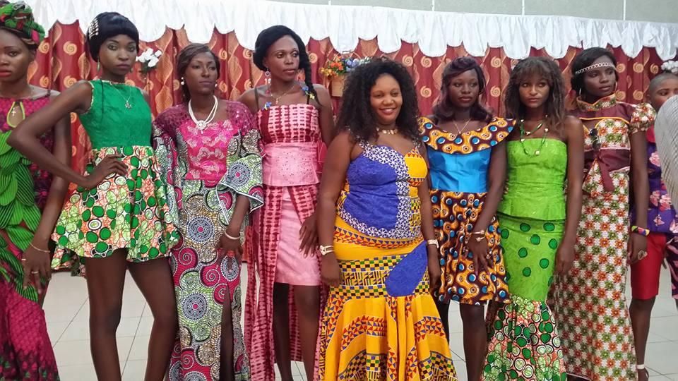 central african republic fashion show Diane Graziella Kpefio (1)