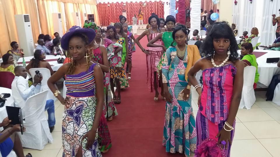 central african republic fashion show Diane Graziella Kpefio (2)