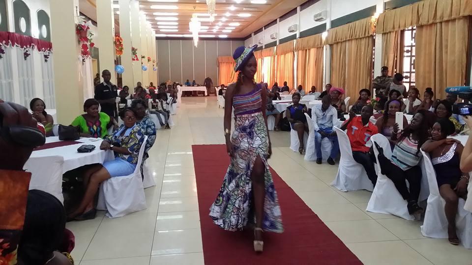 central african republic fashion show Diane Graziella Kpefio (3)