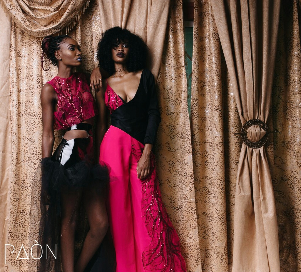 house of paon fashionghana african fashion look book (10)