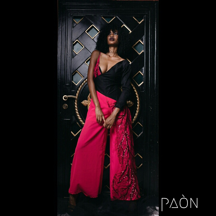 house of paon fashionghana african fashion look book (11)