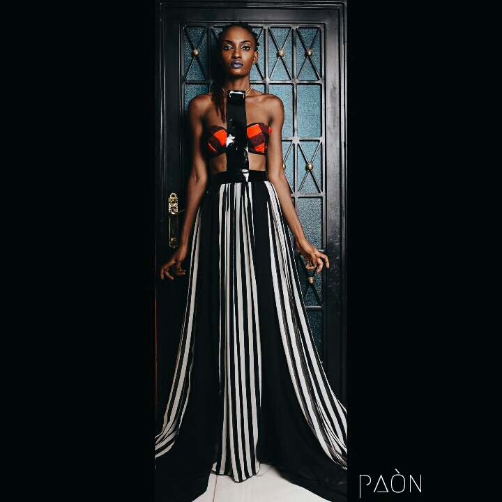 house of paon fashionghana african fashion look book (3)