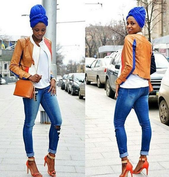 jacket headwrap