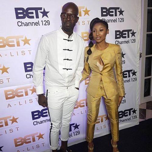 DJ Black Coffee and Enhle Mbali Mlotshwa