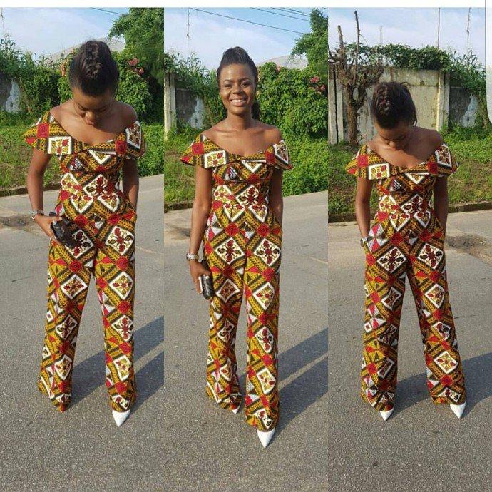 Ankara jumpsuit styles