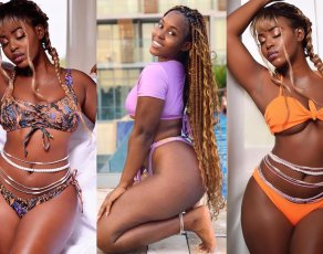 #BIKINIBAE: See Why Ghanaian Video Vixen Kezia Osei Is Beyond Irresistible In Bikini
