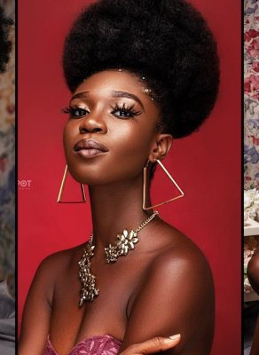 #HOTSHOTS: Top Ghanaian Model & Style Influencer Ajay Daps Stuns In Haute New Afrolicious Images
