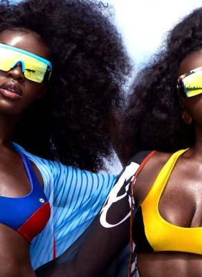 #HOTSHOTS: These Jessy J/Asherah Colabs Are Some Of The Best Melanated Swimwear Campaign Images Out There