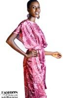 Mikoko Silk Print Wide Leg Jumpsuit