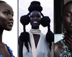 #MODELCRUSH: Monica Tor Is One Gorgeous, Slim, Tall & Dark African Bringing Unique Beauty To Every Single Shot