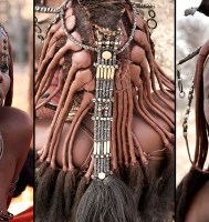 PICS: The Details In The Traditional Himba Women Hairdos Is Far More Trendy Than Any Modern Styles