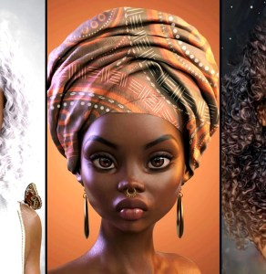 This Digital Artist Andre J Is Creating Stunning Black Animated Faces Young Black Girls Need To Feast Their Eyes On