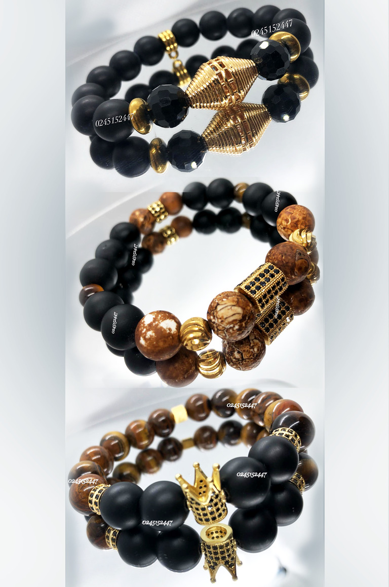 Nadjoa Royal Beaded Bracelets