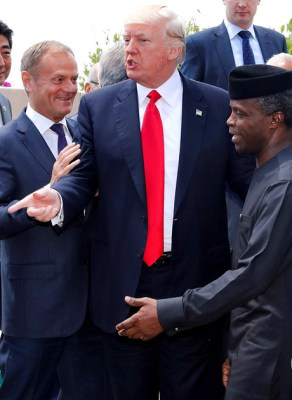 Donald J.Trump Is AfricaWorld's 'Man Of The Year'! Here Is How He Reacted On Twitter