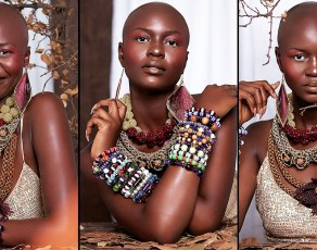 #HOTSHOTS: Gh Model Irene Yesutor Absolutely Slay These Shots Proving 'Bald Is The New Black'