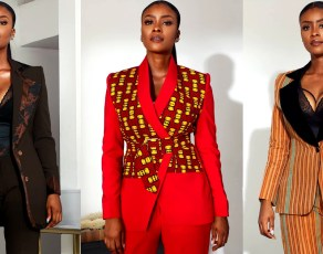 Nigerian Fashion Brand Bubu Blaq Drops Haute African Print Suits That Will Excite All Stylish Female Entrepreneurs