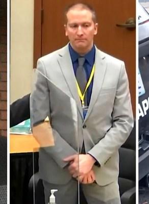 VIDEO: George Floyd's Killer Derek Chauvin Has Been Found Guilty Of Murder & Manslaughter