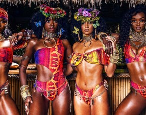 VIDEO: Check Out All The Juicy Video Clips & Haute New Exotic Swimwear Looks By Nigeria's BFyne Brand