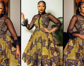 #STYLEGIRL: Anita Akua Akufo Serves Gh Mona Lisa Vibes In This Fabulous Print Outfit