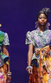 VIDEO: Watch Afriken By Nana Shatter The Kumasi Fashion Week Runway With His African Print 'LUSAKA' Collection