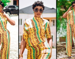#STYLEGIRL: Catch A Breeze In This Stunning Ayodele Jayne Jumpsuit Rocked Well By Sharon Ooja
