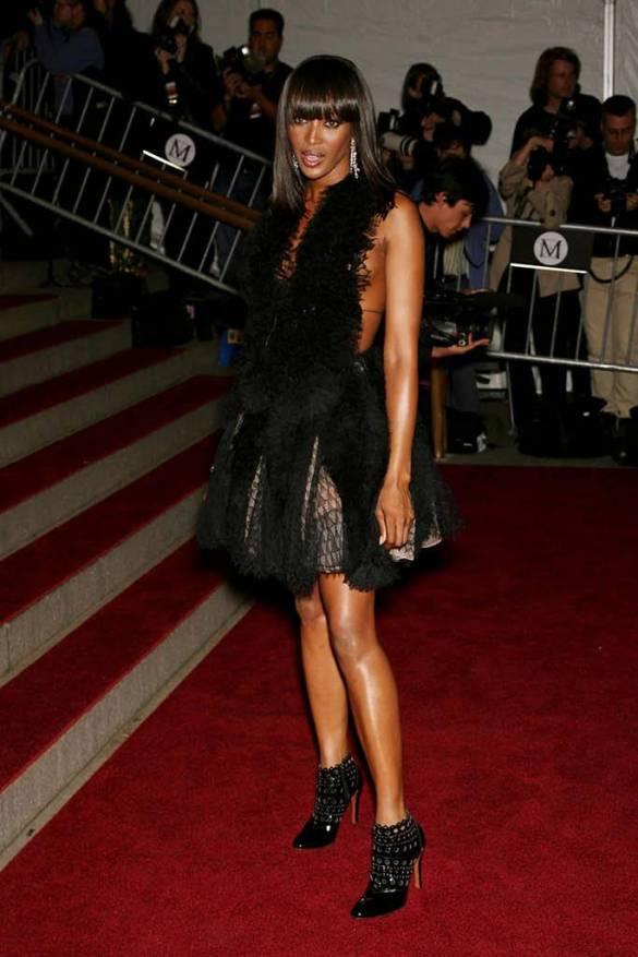 Naomi Campbell 30 years met gala