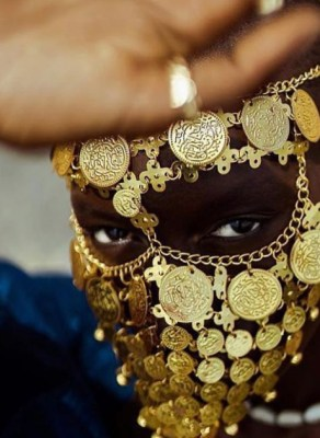 #HOTSHOTS: Mame Anta Wade Stuns In Fabulous Jewelry Editorial Highlight Senegalese Royalty