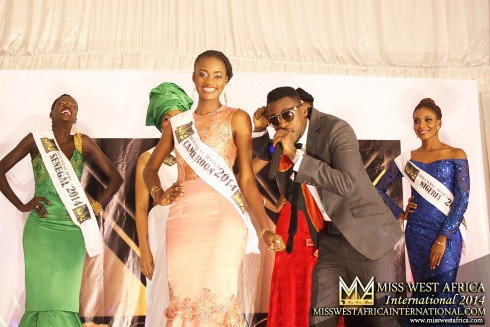 Florence Epee from Cameroon : Miss West Africa International 2014