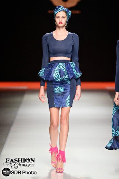 Khosi Nkosi mercedes benz fashion week joburg 2015 african fashion fashionghana (4)