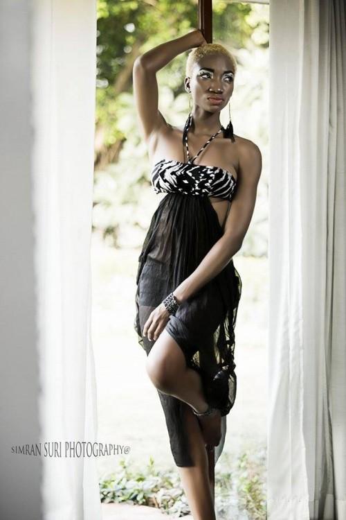 Nigerian model in india (10)