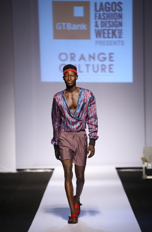 Orange Culture lagos fashion and design week 2014 fashionghana african fashion (3)